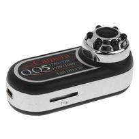Yonis - Mini Caméra espion Full Hd 1080p grand angle 170° vision nocturne 12MP