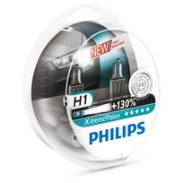 Philips - 2 Ampoules H1 - X-tremeVision +130