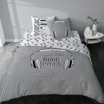 Chambre noir blanc ado - catalogue 2019 - [RueDuCommerce - Carrefour]
