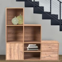 meuble escalier achat meuble escalier pas cher rue du commerce. Black Bedroom Furniture Sets. Home Design Ideas