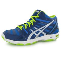 chaussures asics gel hunter 3 bleues roses
