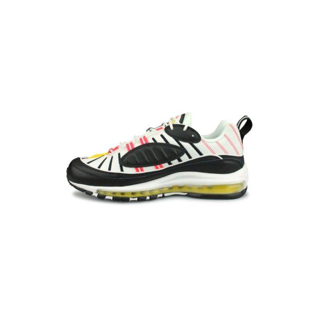 Nike Basket Air Max 98 Noir 640744 016 pas cher Achat