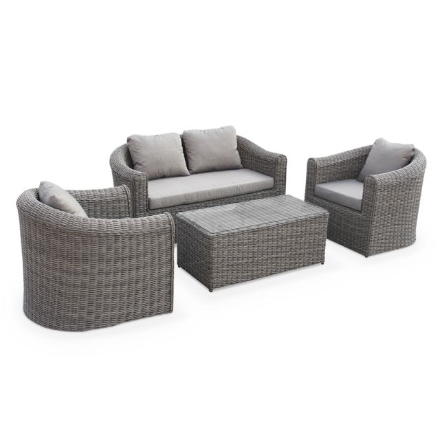 Beautiful Salon De Jardin Duo Gris Contemporary - ansomone.us ...