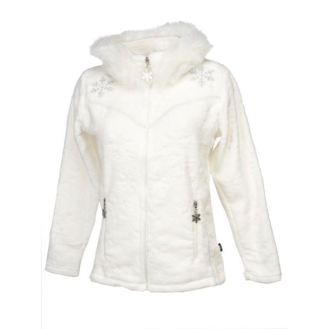 Veste polaire sans manches Insbruck blc sm polair l Blanc 59837