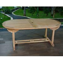 Tables de jardin Teck - Achat Tables de jardin Teck pas cher - Rue ...