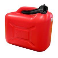 Autoselect - Jerrican plastique hydrocarbures rouge 5L