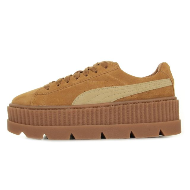 Puma Rihanna Cleated Creeper Suede pas cher Achat