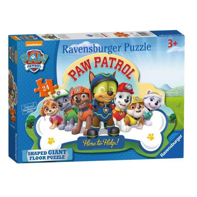 Ravensburger Puzzle géant de sol Pat'Patrouille 24 pièces partir de 3 ans