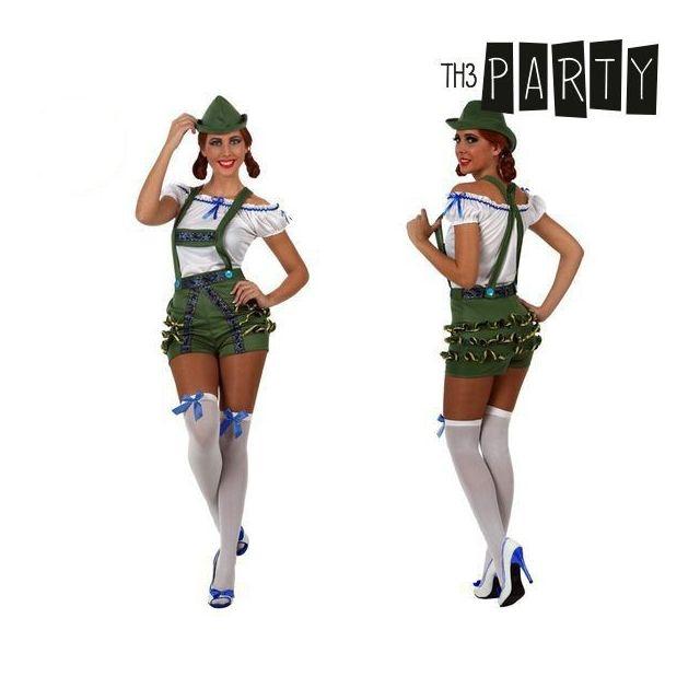 90fb0aebb76d15 Costume de femme allemande traditionnelle version sexy - déguisement Taille  - M/L