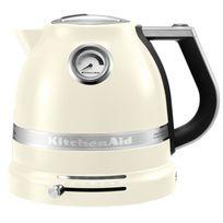 Kitchenaid - bouilloire sans fil 1.5l 2400w crème - 5kek1522 eac