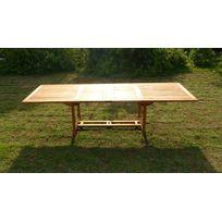 Table jardin 3m achat table jardin 3m pas cher rue du for Table exterieur 3m