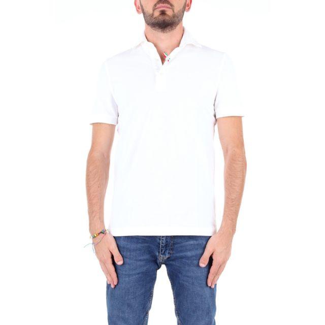 Della Ciana Homme 0041240SBIANCO Blanc Coton Polo