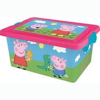 Mercier Toys - Peppa Pig - Boite de Rangement 7 L