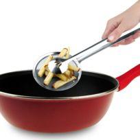 Ipac - Pince à friture en inox I Genietti