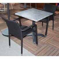 table jardin beton - Achat table jardin beton pas cher - Rue du ...