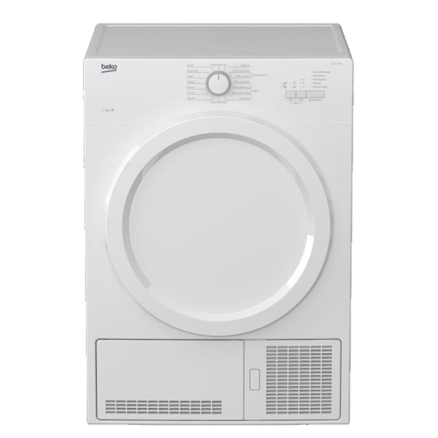 beko s che linge condensation 60cm 7kg b blanc bd7131paow achat s che linge condensation b. Black Bedroom Furniture Sets. Home Design Ideas