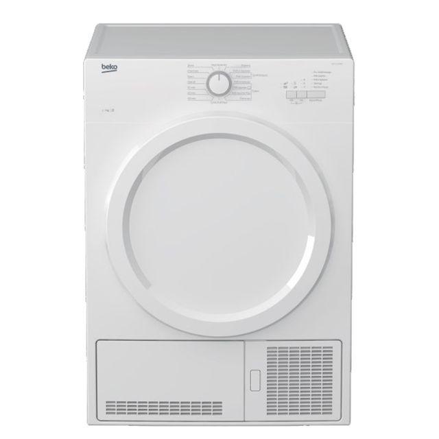 Beko sèche linge à condensation 60cm 7kg b blanc - bd7131paow