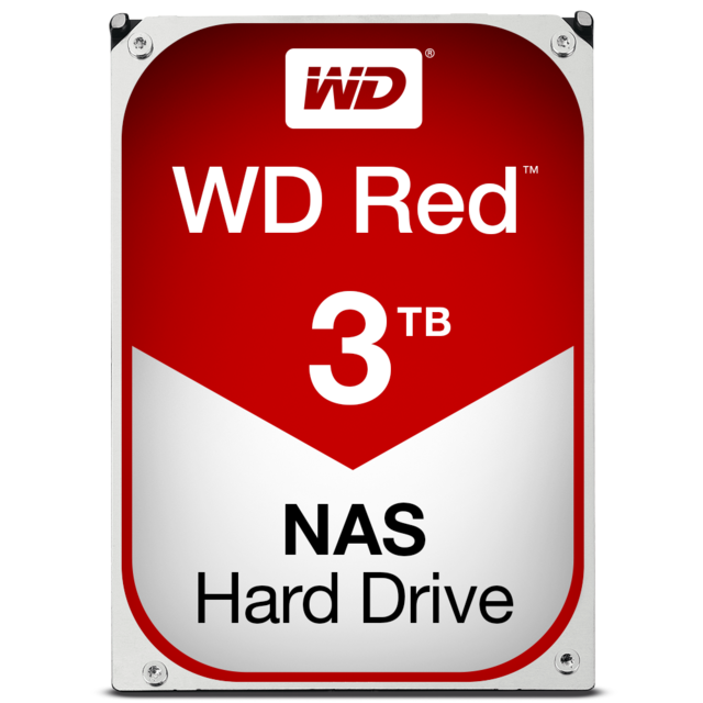 WESTERN DIGITAL - WD Red 3 To