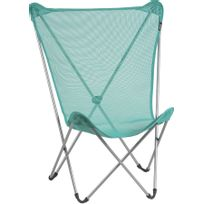 Lafuma Mobilier - Maxi Pop Up - Siège camping - Classic Batyline turquoise