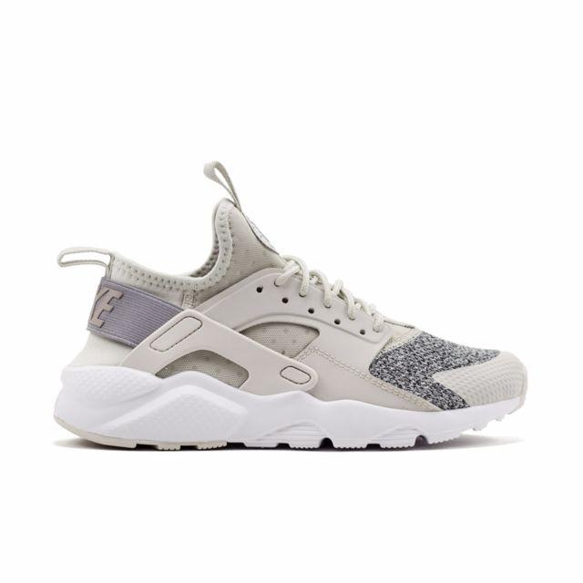 uk availability 118bb 9288d Nike - Huarache Run Ultra Gs - 942121-002 - Age - Adolescent, Couleur - Gris,  Genre - Mixte, Taille - 38,5 - pas cher Achat  Vente Chaussures basket -  ...