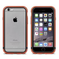 Moshi - Coque Bumper iGlaze Luxe iPhone 6s aluminium cuivre entourage gel