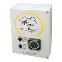 Wa Conception - coffret electrique pour filtration + 1 projecteur 100w - detf 1 p100d