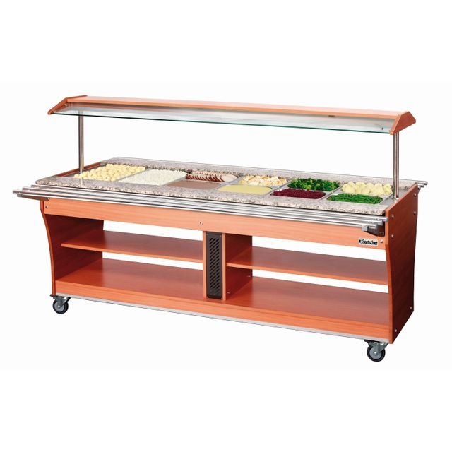 Bartscher Chariot buffet chaud 6x Gn 1/1 180
