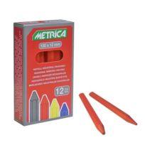 Metrica - 50040 Craie Rouge 12 PiÈCES