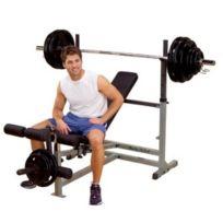 BodySolid - Banc Body-Solid Powercenter Combo Bench with Leg Developer