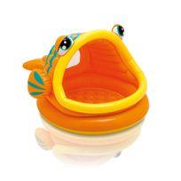 Intex - Piscine pour enfants poisson avec pare-soleil