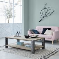 Table Pied Metal Plateau Bois Achat Table Pied Metal Plateau Bois