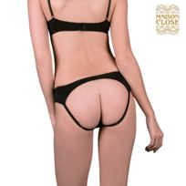 Maison Close - Shorty Cul Nu - Le petit Secret Noir S