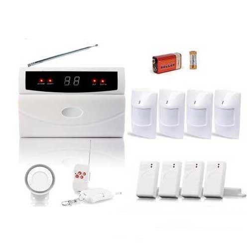 securitegooddeal centrale d 39 alarme sans fil 32 zones xl box pas cher achat vente alarme. Black Bedroom Furniture Sets. Home Design Ideas