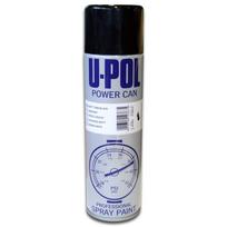 Topcar - Power can Aérosol noir mat 500ml Upol Pcmb/AL