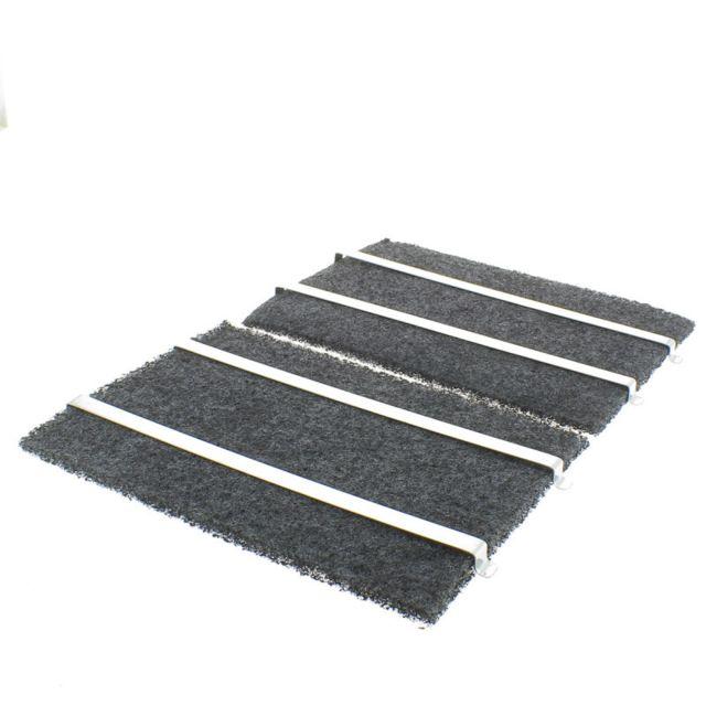 Brandt Filtre charbon rectangulaire 220 x 160 mm pour Hotte, X2