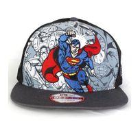 New Era - Casquette Snapback Superman Hero Break Gris
