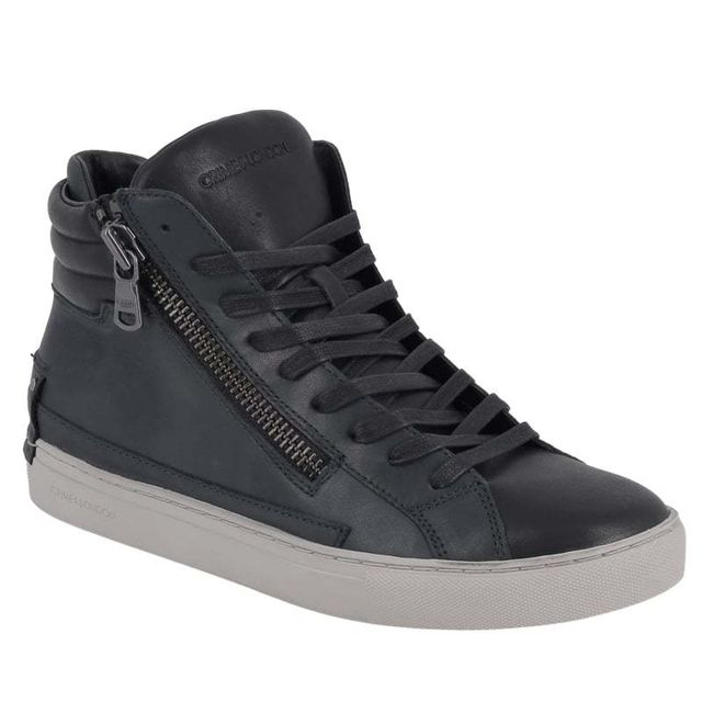 Crime London Java hi navy black 11332A17 pas cher Achat