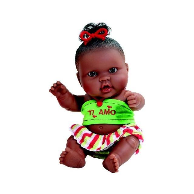 Paola Reina - 01154 - PoupÉE Et Mini PoupÉE - Hebe - Collection Les Peques  Enamorados - 22 Cm - pas cher Achat   Vente Poupées - RueDuCommerce ca82cc11fa4