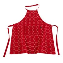 Ziczac - Tablier adulte 100% coton motif géométrique Hexagone