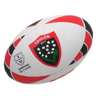 Gilbert - Ballon de rugby Toulon t5 rct rugby Blanc 44606