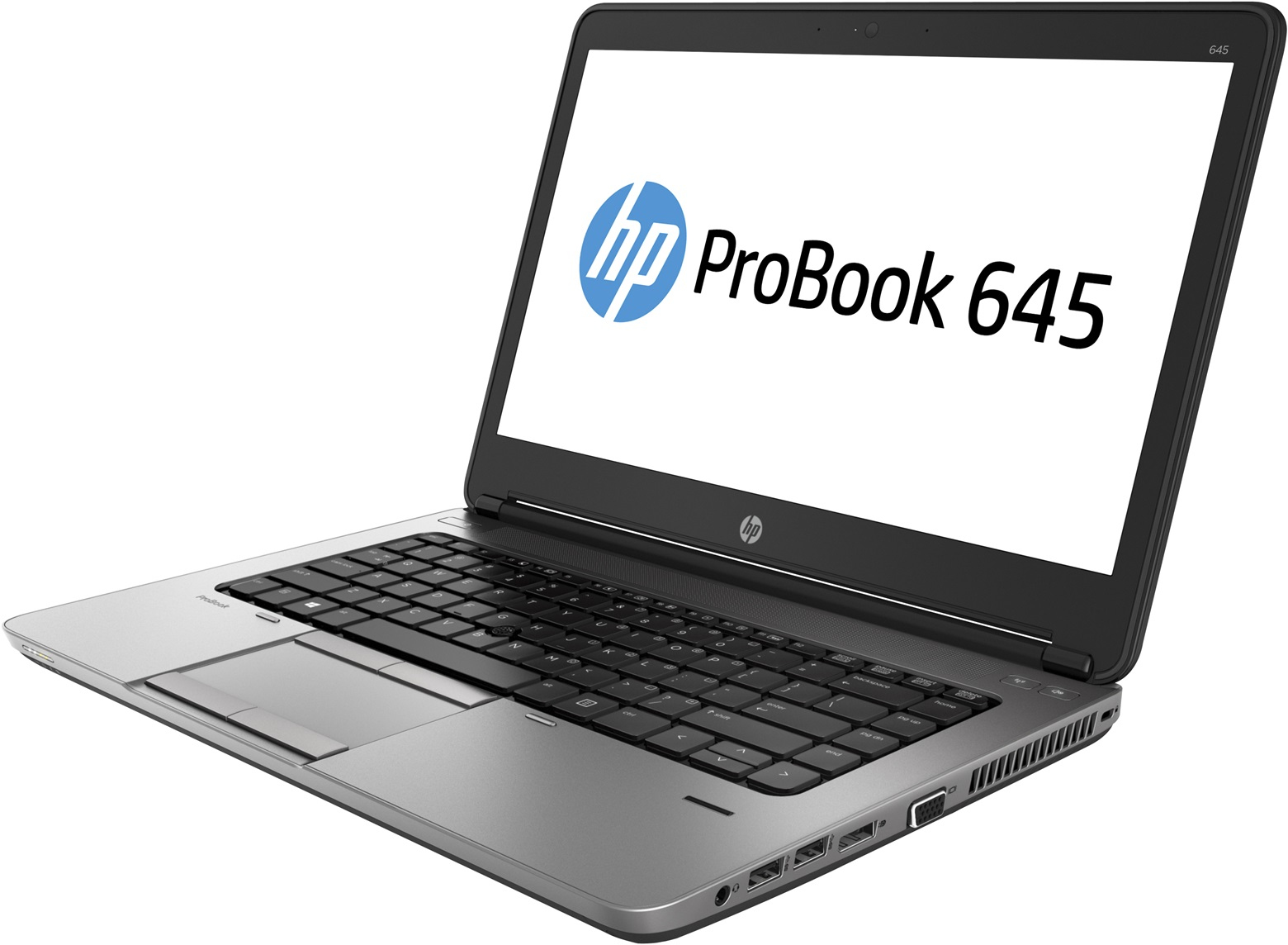 "ProBook 645 G1 : AMD A8 5550M 2.1 Ghz - RAM 8 Go - SSD 256 Go - Aucun lecteur - Ecran 14"" LED HD - Webcam - Windows 7 Home Premium MAR 64 bits"