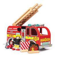 Le Toy Van - Camion de Pompiers avec pompier