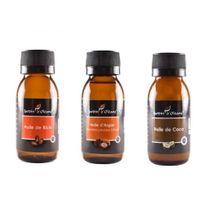 Tous - Lot 3 Huile Pure Ricin/Argan/Coco 60 Ml