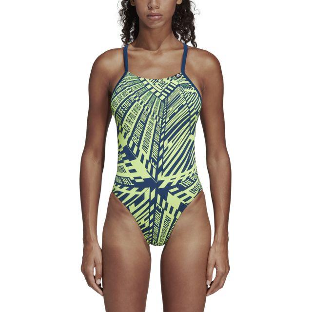 d3ba41f93b Adidas - Maillot de bain femme Pro Light Graphic - pas cher Achat / Vente  Maillots de bain - RueDuCommerce