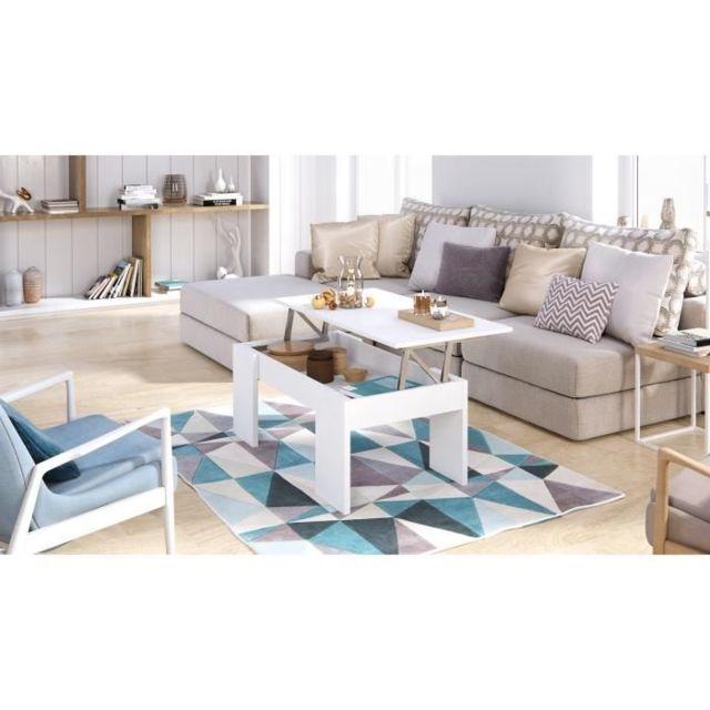Générique Table Swing Style Relevable Basse Plateau vOmn80Nw