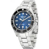 Sector Montres - Montre Sector 235 R3253161006 - Montre Cadran Bleu Homme