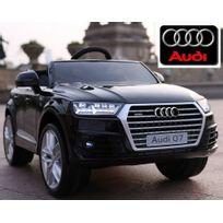 Audi - Voiture électrique enfant Nouvelle Q7 roues gomme 12V - Noir