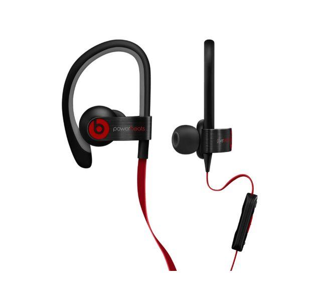 BEATS Ecouteurs - Noir et rouge - Powerbeats 2
