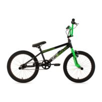 KS CYCLING - BMX freestyle 20'' Circles noir-vert V Brake