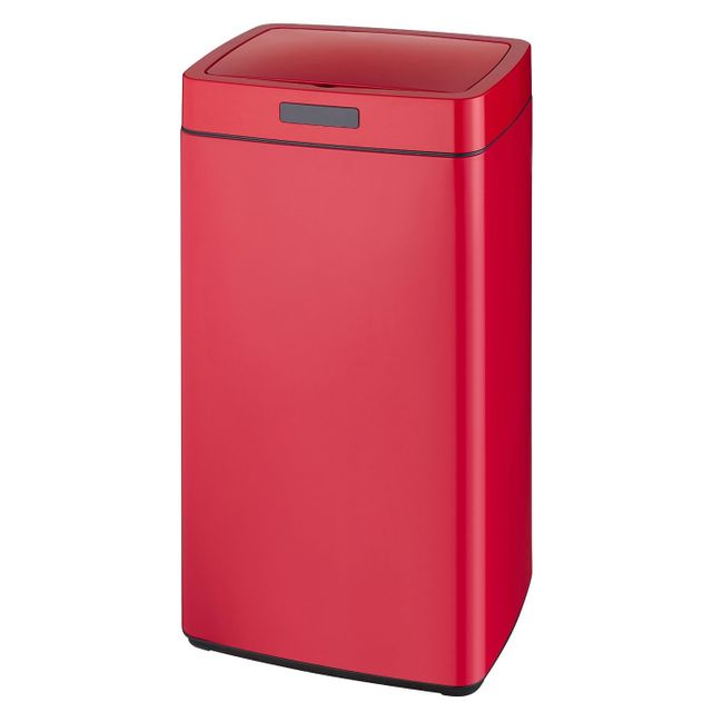 KITCHEN MOVE poubelle automatique 45l rouge - bat-45ls13-a red ss